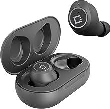 Auriculares inalámbricos V5 Bluetooth funcionan para Bose Bose Bose Bluetooth Headset Series 1 con estuche de carga para auriculares in Ear (V5.0 Negro)