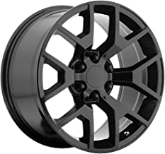 OE CREATIONS PR169 Gloss Black Wheel (24 x 10. inches /6 x 78 mm, 31 mm Offset)