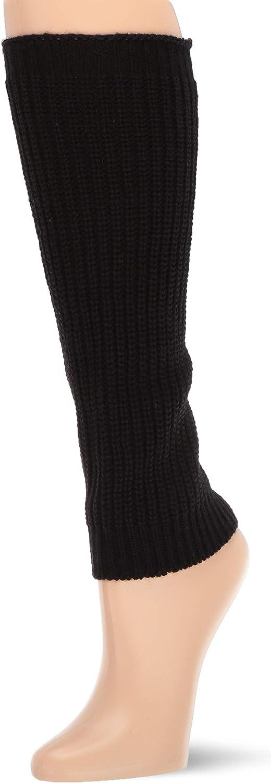 HUE Women's Soft Knit Leg Warmers, Assorted