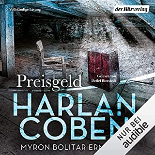 Preisgeld     Myron-Bolitar-Reihe 4              By:                                                                                                                                 Harlan Coben                               Narrated by:                                                                                                                                 Detlef Bierstedt                      Length: 10 hrs and 57 mins     1 rating     Overall 4.0