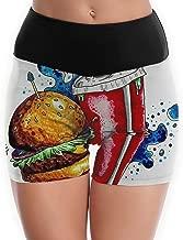 JNRUIX Women's Yoga Pants Hamburg Cola Workout Running Yoga Pants Yoga Shorts Pants Active Running Shorts