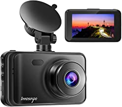 "Dash Cam【2020 New Version】 1080P FHD DVR Car Dashboard Camera Recorder 3"" LCD Screen 170° Wide Angle, Super Night Vision, ..."
