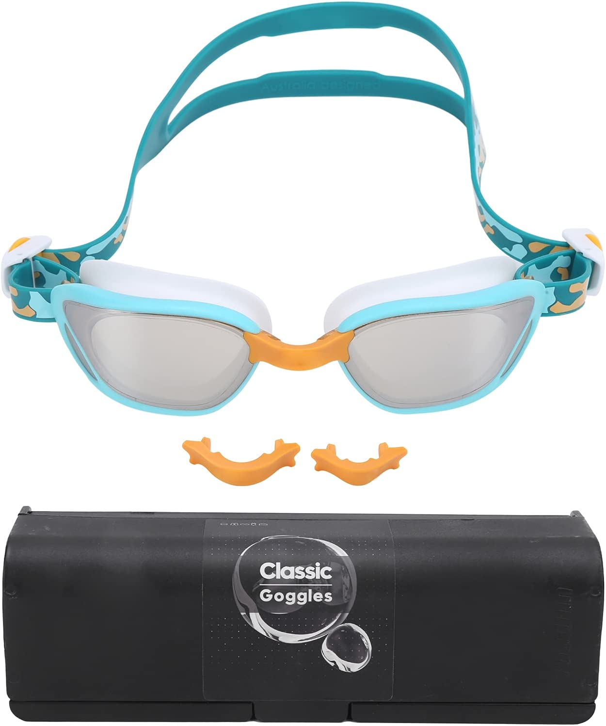 Dilwe Wide View Swimming Outlet Boston Mall sale feature Goggles Definition No Leaking High Ant