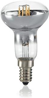 Ideal Lux R50 Retrofit E14 LED Bulb 4W Spot 430lm 3000K Chromed and Transparent Glass