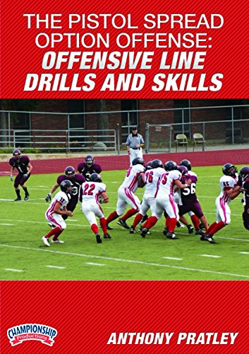 Championship Productions Anthony Pratley-The Pistol Spread Option Offense: Offensive Line Drills and Skills DVD