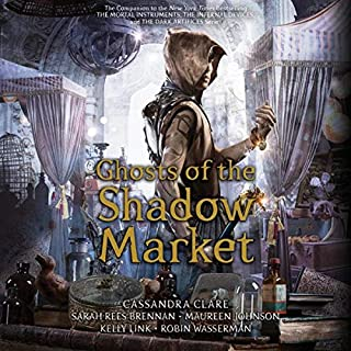Ghosts of the Shadow Market audiobook cover art