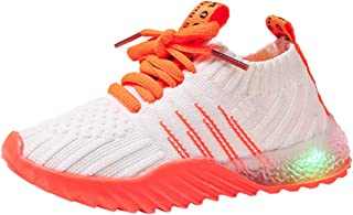 Kid's Shoes,Baby Girls Boys LED Light Shoes 1-6 Years Old Mesh Luminous Walking Sneakers