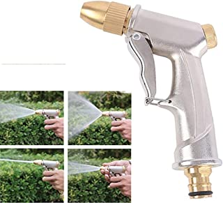 High Pressure Power Washer Spray Nozzle Tools 4 Modes Adjustable for Washing/Watering Lawn and Garden