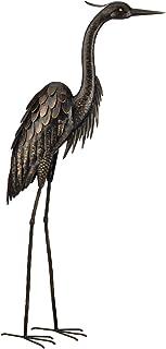 """Regal Art and Gift 10867 45"""" Bonze Heron, Standing, Inch, Bronze"""