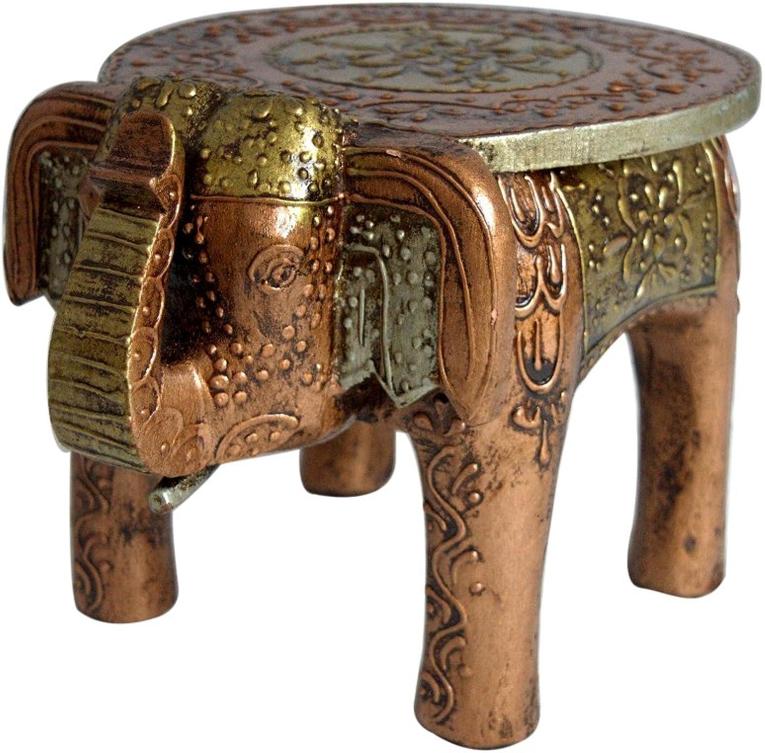El nuevo outlet de marcas online. Jaipur handicrafts handicrafts handicrafts hub Taburete de Madera Hecho a Mano para Manualidades, decoración del hogar de Elefante, 20 cm  punto de venta de la marca