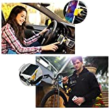Vanki Car Mount, SQdeal All in One Multifunctional Phone Mount, Pole Mount, Bike Mount, Desk Mount, Shelf Mount, Air Vent Mount, Driver Mount, Headrest Mount, Stroller Mount, Desk Mount. (Mutil Mount)