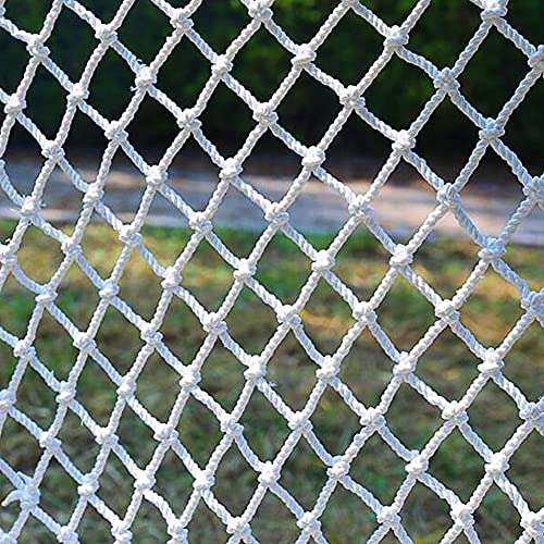 MuMa Child Safety Net, Stair Balcony Protective Netting,Pets Railings Fence Net,Cargo Trailer Netting Net,Outdoor Safety Stairs Net,5mm*5cm(Size:2×3M(7×10ft))