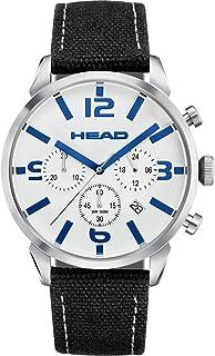 HEAD Reloj Cronógrafo para Hombre de Cuarzo con Correa en Cuero HE-006-02