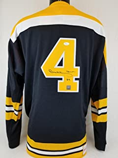 BOBBY ORR SIGNED MITCHELL & NESS JERSEY GREAT NORTH ROAD JSA COA BRUINS