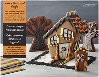 Wilton Build It Yourself Chocolate Cookie House Decorating Kit-Halloween House