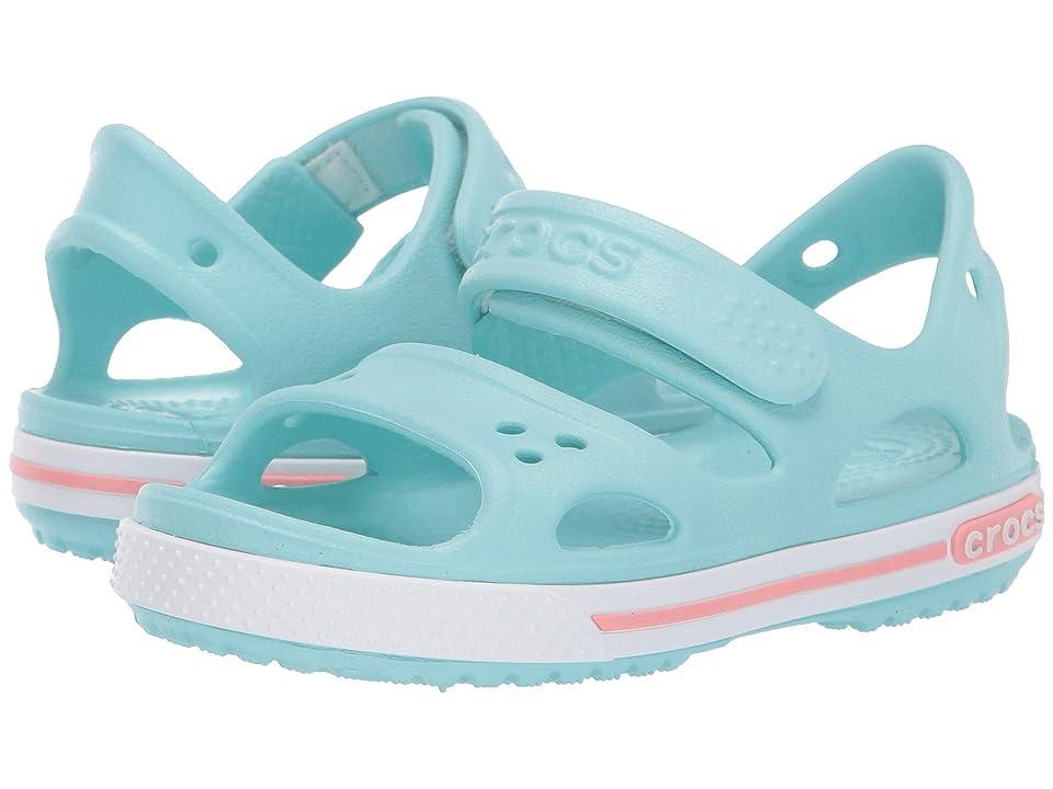 Crocs Kids Crocband II Sandal (Toddler/Little Kid) (Ice Blue) Boys Shoes