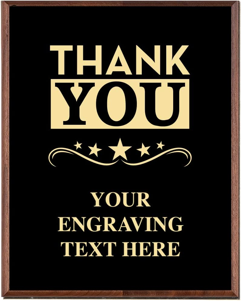 Max 64% OFF Corporate Employee Recognition Max 53% OFF Plaques - 5 x Etched Gold 7 Recog