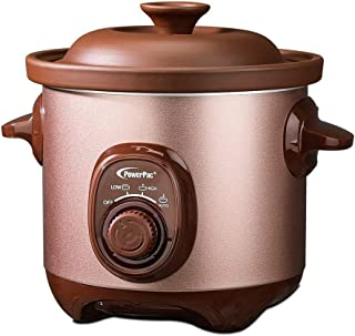 PowerPac Slow Cooker, 3.5L, Brown