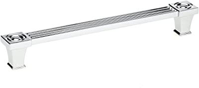 Hickory Hardware P3711 Cach Crysacrylic With Chrome Midway Pull 12 C C Finish 12 Inch Center To Center Amazon Com