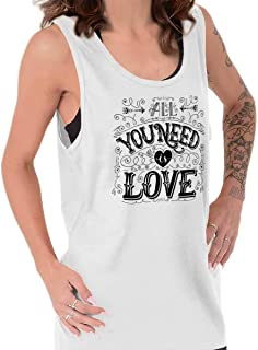 Number One Forever Love Cute Romance Dating Tank Top