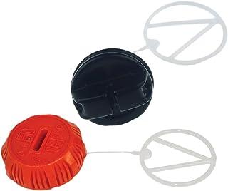 Genuine Echo P021036960 + P021007630 Set of Oil + Gas Cap Fits CS-370 CS-370F CS-400..