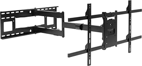 Mount-It! Long Arm TV Mount, Full Motion Wall Bracket with 40 inch Extended Articulating Arm, Fits Screen Sizes 42, 4...