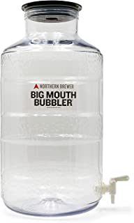 Northern Brewer - Big Mouth Bubbler Wide Mouth PET Plastic Carboy Fermentor (6.5 Gallon Ported)