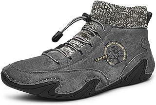Crazyfly - Sneaker da uomo in memory foam con lacci, stile casual, traspiranti e flessibili