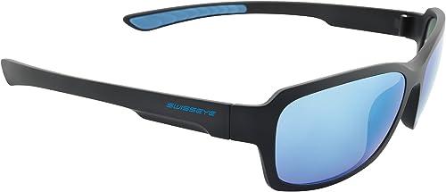 Swiss Eye Unisex Erwachsene Ambient Sportbrille Black matt Blau One Größe