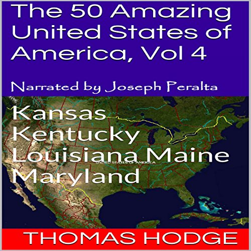 The 50 Amazing United States of America, Vol 4 audiobook cover art