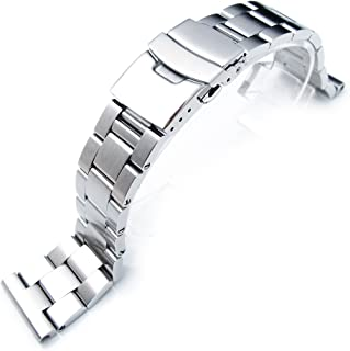 22mm Super Oyster Type II watch bracelet common use for diver watch, straight end