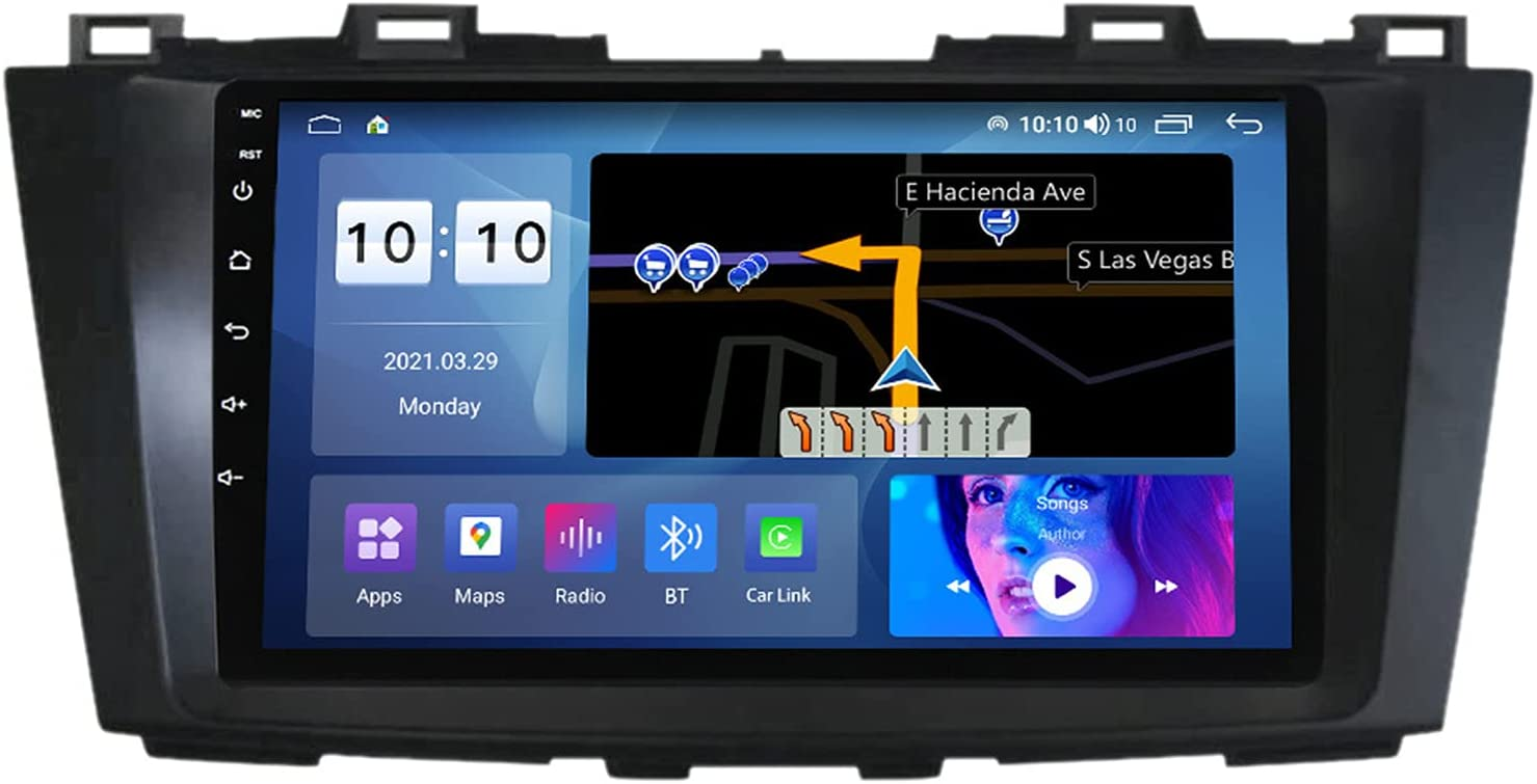 GGBLCS for Ranking TOP18 Mazda 5 2010-2015 Double Stereo Louisville-Jefferson County Mall Din Car 9'' Touchscre