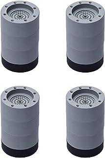 QPY 4Pcs Patins Anti Vibration Tampon Anti-Vibration Lave Linge Universel Pieds Stabilisateur Piédestal,pour Lave-Linge Ré...
