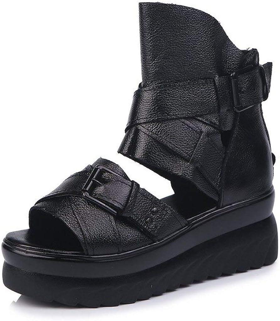 Women Roman Platform Sandals Ankle Summe Courier shipping free Wrap Comfy Strap Buckle Bargain
