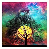 Full 5d Partial Drill Diamond Painting Embroidery Moon Picture Wall Crystal Art Work