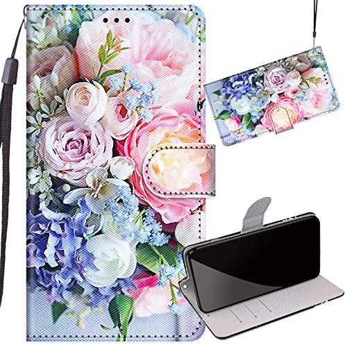 Yiizy Funda para Nokia 3 Carcasa Cuero Piel Billetera Silicona TPU Cover con Ranura Tarjeta Soporte Cierre Magnético Carcasa para Nokia 3 Funda 4