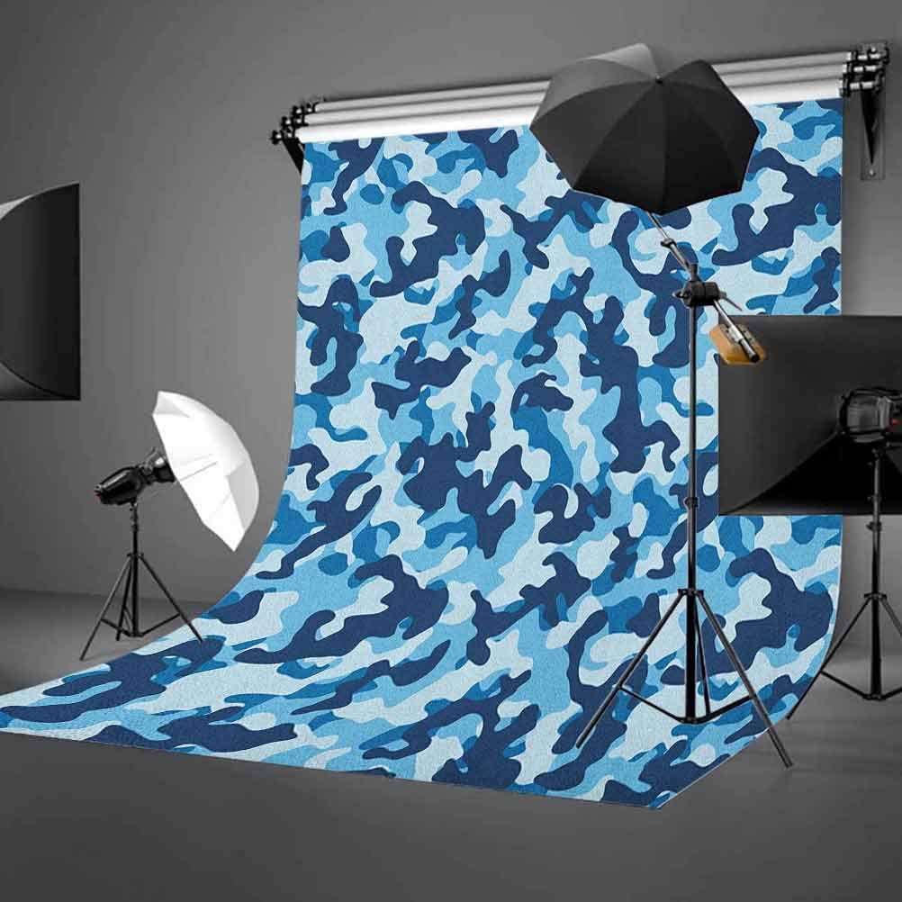 8x12 FT Earth Vinyl Photography Backdrop,World Covered with Green Forest Grass and Blue Waters Eco Nature Concept Background for Baby Birthday Party Wedding Studio Props Photography