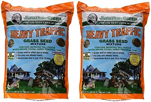 new arrival Jonathan 2021 Green online & Sons, 7lb Hvy Traffic Seed (2-Pack) outlet sale