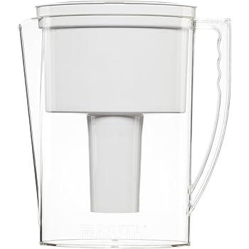 Brita Slim Water Filter Pitcher, 5 Cup food, White