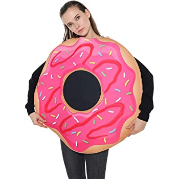 EraSpooky Donut Costume Family Party Fancy Dress Adult and Child