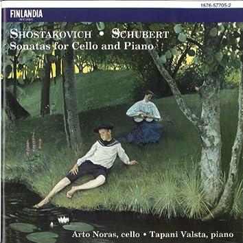 Shostakovich / Schubert : Sonatas for Cello and Piano