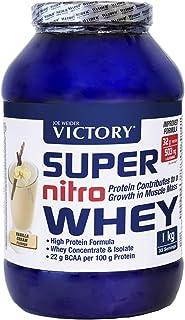 Victory Super Nitro Whey Vainilla (1 kg). Concentrado y aislado