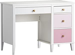 Little Seeds Monarch Hill Poppy Desk, White/Pink