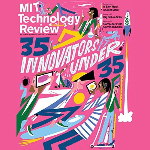 Audible Technology Review, September 2015 cover art