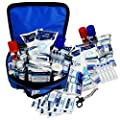 Qualicare Touchline Elite Professional Pro Sports Training First Aid Kit Bag + Refill Pack by Sure Healthcare