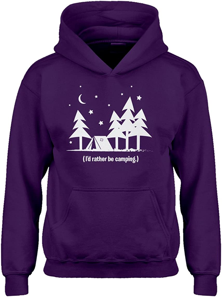 Indica Plateau I'd Rather be Camping Hoodie for Kids