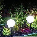 EURYTKS Nuevo Tipo de Luces solares para jardín al Aire Libre, 6...