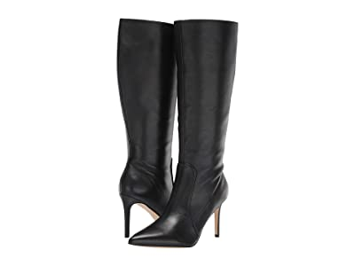 Nine West Fivera Wide Calf (Black) Women