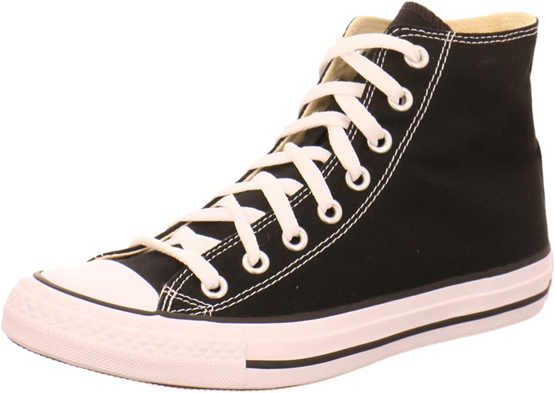 Converse Chuck Taylor All Star High Top Sneaker, Black, 4.5