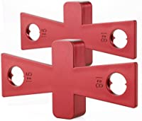 FTVOGUE Woodwork Dovetail Guide Template Dovetail Marker Marking Tool Woodworking Scriber Gauge